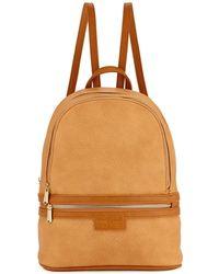 Urban Originals - Textured Faux-leather Medium Backpack - Lyst