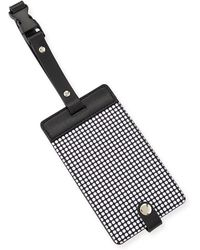 Neiman Marcus - Dotted Snap Luggage Tag - Lyst