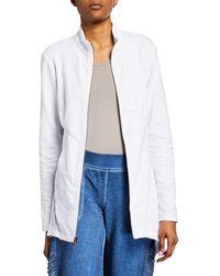 XCVI - Subira Solid Handkerchief Jacket - Lyst