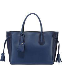 Longchamp - Penelope Medium Leather Tote Bag - Lyst