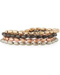 Lydell NYC - Beaded Stretch Bracelets - Lyst