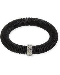 Alor Kai Coiled Bracelet Black