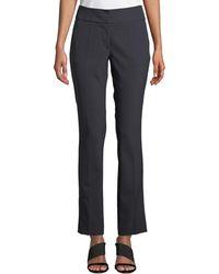Neiman Marcus - Gramercy Stretch Kiera Trouser Pants - Lyst