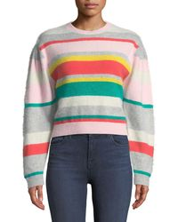Rebecca Taylor - Cropped Pullover Sweater - Lyst