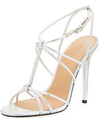 Halston Heritage   Anita Strappy High-heel Sandal   Lyst
