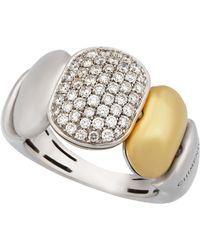 Chimento - 18k Mixed Gold & Diamond Ring - Lyst