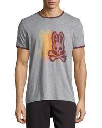 Psycho Bunny | Logo-printed Ringer Tee | Lyst