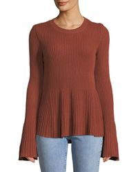 Tularosa - Courage Bell-sleeve Fit-&-flare Sweater - Lyst