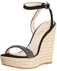 Pelle Moda - Only High Wedge Sandal - Lyst