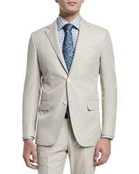 Ermenegildo Zegna - Two-piece Cotton Suit - Lyst