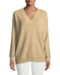 Knot Sisters - Jane V-neck Pullover Sweater - Lyst