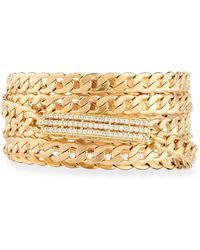 Nakamol - Overlapping Crystal Chain Bracelet - Lyst