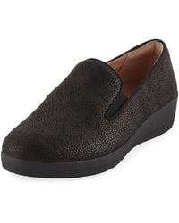 Fitflop - Superskate Pebbled Sneakers - Lyst