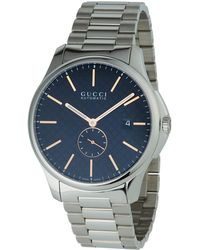 6ff861324a1 Gucci - 40mm G-timeless Men s Automatic Bracelet Watch - Lyst