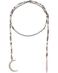 Nakamol - Crescent Moon Wrap Necklace - Lyst