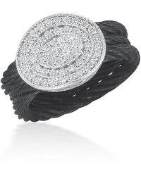 Alor - Multi-row Diamond Pavé Oval Ring - Lyst