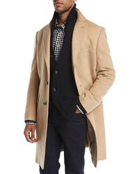 Neiman Marcus - Cashmere Single-breasted Top Coat - Lyst