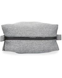 Neiman Marcus Men's Soft Neoprene Travel Kit - Gray