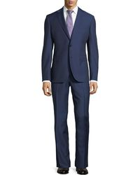 Neiman Marcus - Dotted Wool Two-piece Suit - Lyst