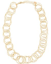 Lydell NYC - Single-strand Circle-link Necklace - Lyst