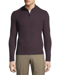 Ben Sherman - Funnel-neck Wool Sweater - Lyst