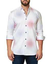 Maceoo - Shaped-fit Luxor Webspread America Sport Shirt - Lyst