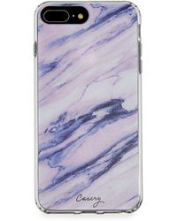 Casery Purple Marble Phone Case For Iphone X/xs