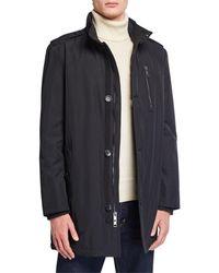 Marc New York Men's Cullen Military Coat - Black