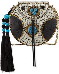 Sam Edelman - Beatrice Iron Embellished Mini Crossbody Bag - Lyst