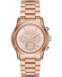 MICHAEL Michael Kors - 39mm Jet Set Chronograph Bracelet Watch - Lyst