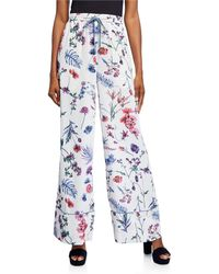 BCBGMAXAZRIA Wildflowers Pajama Pants - Multicolor
