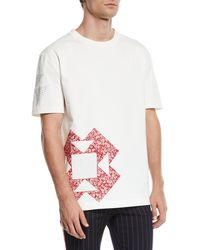 CALVIN KLEIN 205W39NYC - Printed Loose Fit T-shirt - Lyst