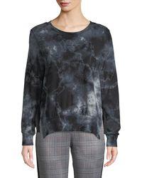 Pam & Gela - Tea-stained Tie-dye Slit Side Sweatshirt - Lyst