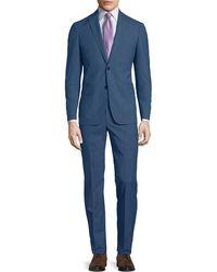 John Varvatos - Slim-fit Wool-melange Two-piece Suit - Lyst