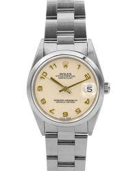 Rolex - Pre-owned 31mm Datejust Automatic Bracelet Watch - Lyst