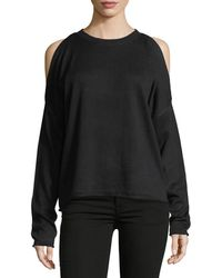 John + Jenn - Cold-shoulder Sweater - Lyst