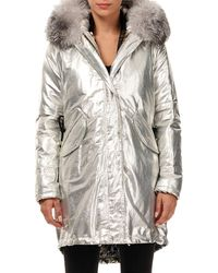 Gorski - Apres Ski Fox Fur Trim Hooded Parka With Detachable Down Vest - Lyst