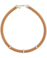 Alor | Coiled Diamond-stations Necklace | Lyst