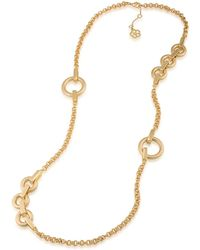 Trina Turk - Long Illusion Link Necklace - Lyst
