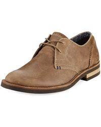 Original Penguin Wade Leather Lace-up Oxford Brown