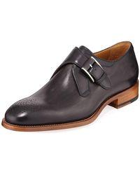 Neiman Marcus - Men's Pontevedra Monk-strap Dress Shoe - Lyst