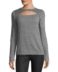 Quinn - Keyhole Pullover Sweater - Lyst