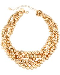 Lydell NYC | Beaded Torsade Necklace | Lyst