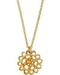 Alex Woo - Zahrah Small Crescent Pendant Necklace - Lyst