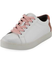 Circus by Sam Edelman - Collins Lace-up Leather Platform Sneakers - Lyst