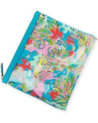 Neiman Marcus - Printed Bikini Bag - Lyst
