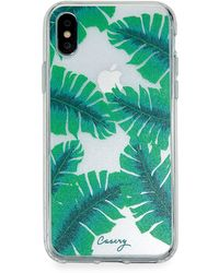 Casery Banana Leaves Phone Case For Iphone X/xs - Green