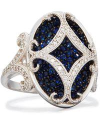 Jude Frances - Florentine 18k Sapphire & Diamond Cocktail Ring - Lyst
