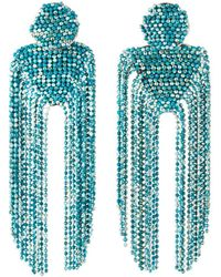Nakamol Double Beaded-dangle Earrings - Blue