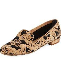 Sesto Meucci - Kandi Flower Cork Loafer - Lyst